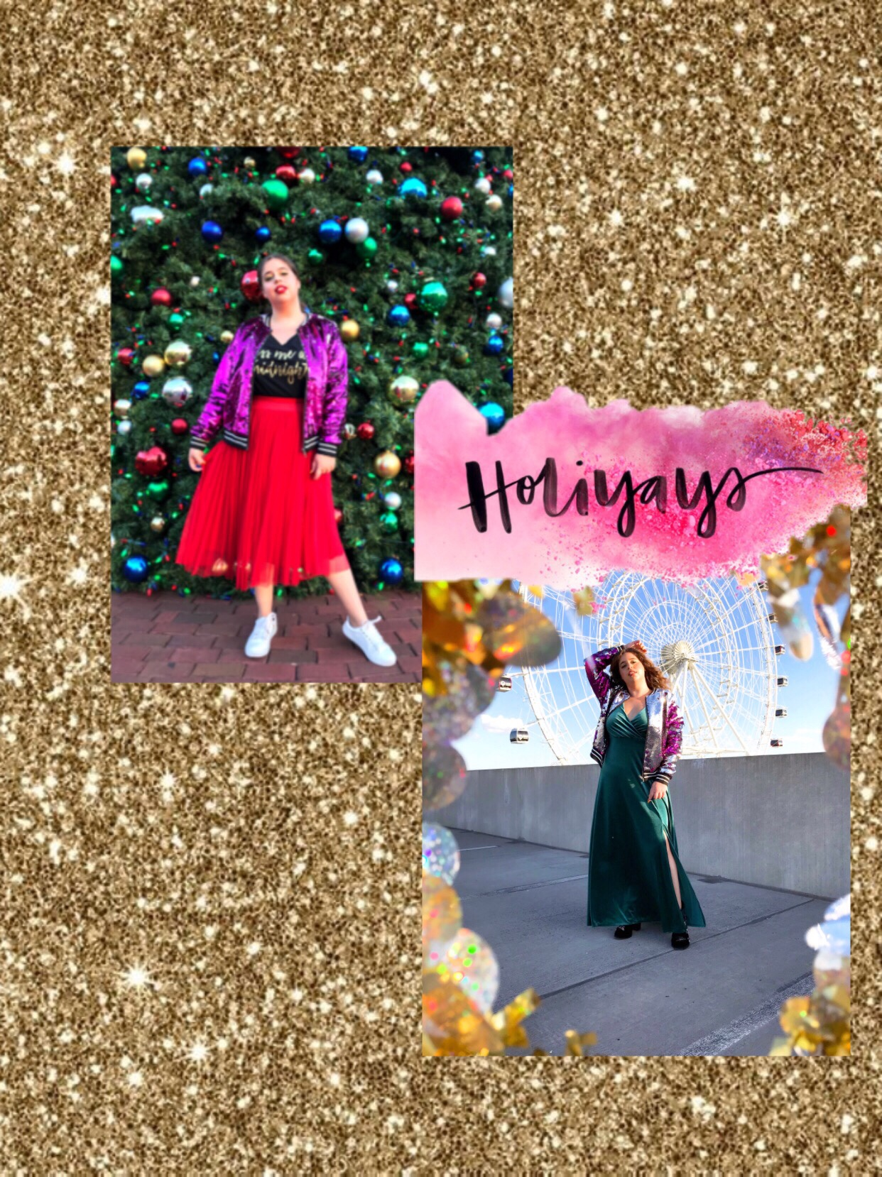 She Wears Color holiday outfit holiday season torrid