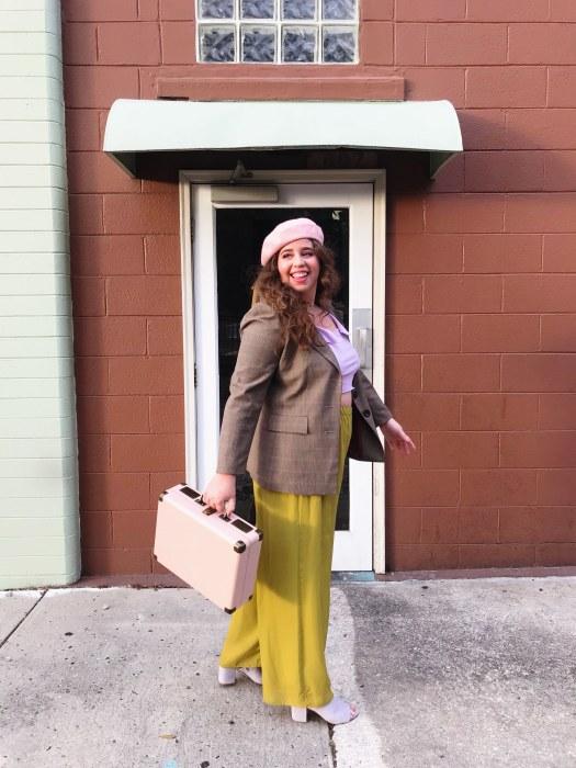 spring trends 2018 lavender she wears color